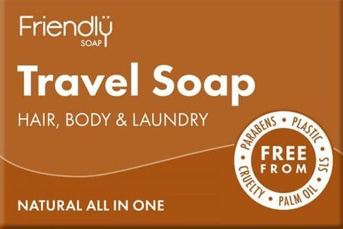 Friendly Soap Natural Travel Soap